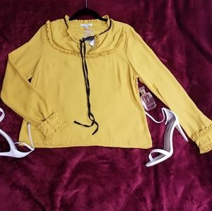 Tops - NEW Yellow Blouse